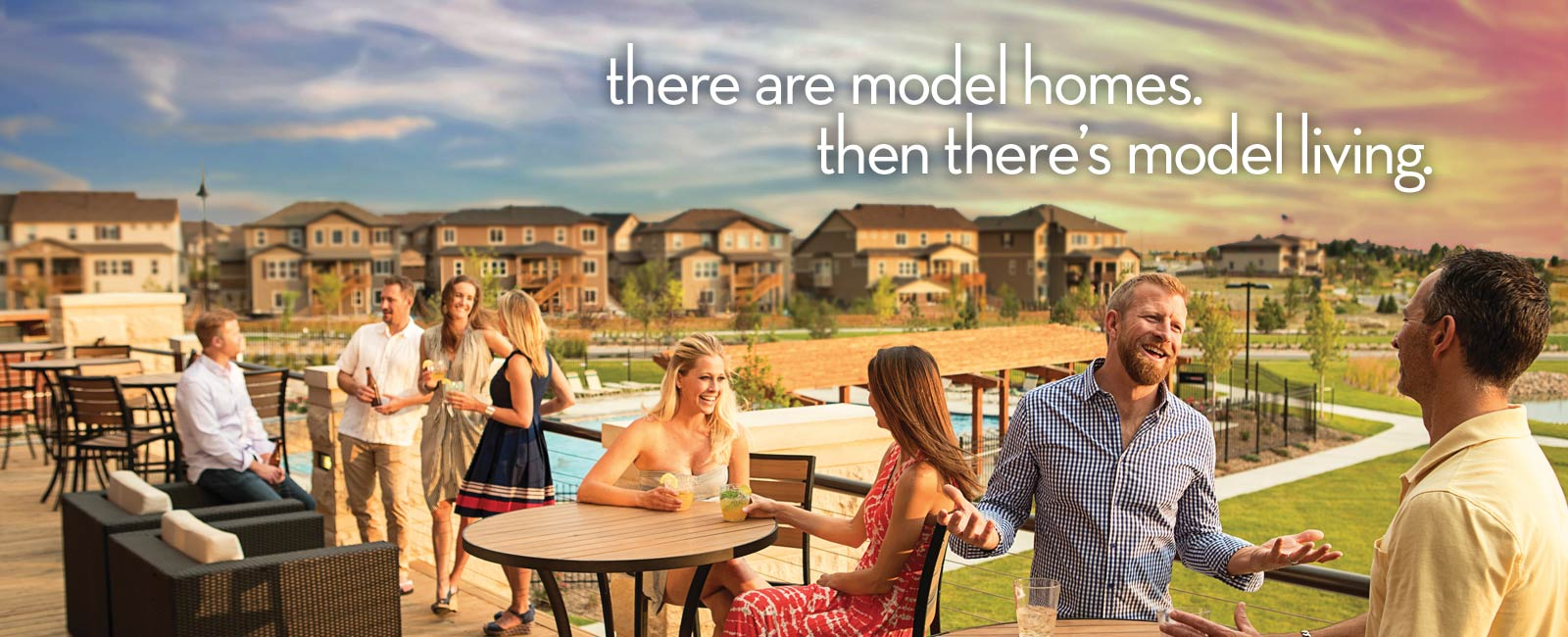 Colliers Hill - Model Living